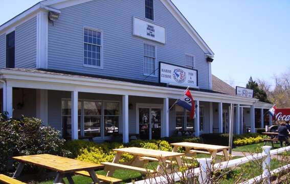 Just across the Street make sure to visit Marine Cusine and Chatham fish and Lobster  - Chatham Cape Cod New England Vacation Rentals
