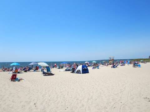 Hardings beach-warmer water, gentle waves..  bike down or just a short drive away- approx 2 miles - Chatham Cape Cod New England Vacation Rentals