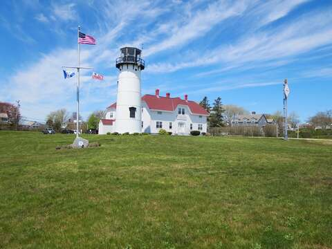 Take a tour of the Lighthouse just up the road .3 tenths of a mile! Chatham Cape Cod New England Vacation Rentals