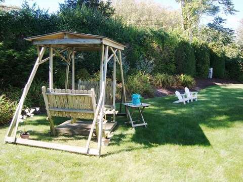 Large, Private Backyard - 325 Bridge Street Chatham Cape Cod New England Vacation Rentals