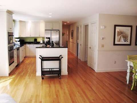 Open fully equipped kitchen - 325 Bridge Street Chatham Cape Cod New England Vacation Rentals