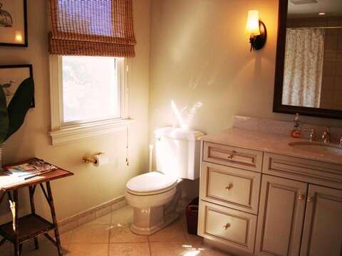 Upstairs Bathroom (tub/shower) - 325 Bridge Street Chatham Cape Cod New England Vacation Rentals