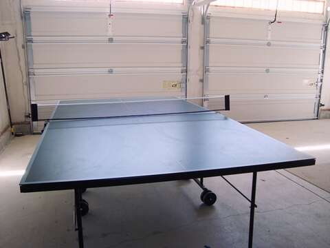 Ping pong table in the garage -great for the kids on a rainy day! 325 Bridge Street Chatham Cape Cod New England Vacation Rentals