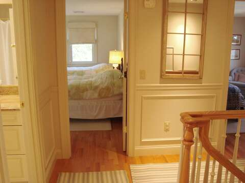 Head to the 2nd floor to fin 3 bedrooms and 2 baths-325 Bridge Street Chatham Cape Cod New England Vacation Rentals