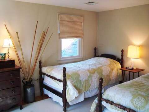 Upstairs Bedroom #2 with 2 twins - 325 Bridge Street Chatham Cape Cod New England Vacation Rentals
