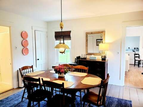 Separate dining room - 38 Pleasant Street Harwich Port Cape Cod New England Vacation Rentals