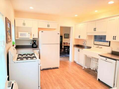 All refreshed updated kitchen-38 Pleasant Street Harwich Port Cape Cod New England Vacation Rentals
