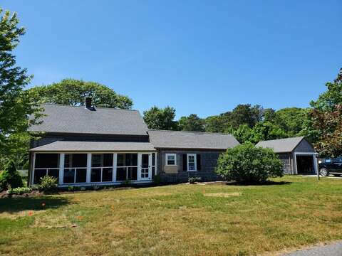 Nice Screened in porch - 38 Pleasant Street Harwich Port Cape Cod New England Vacation Rentals