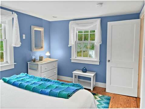 Bedroom #2 with Queen Bed - 58 Longs Lane Chatham Cape Cod New England Vacation Rentals