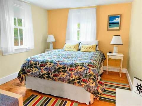 Bedroom #1 with Queen Bed - 58 Longs Lane Chatham Cape Cod New England Vacation Rentals