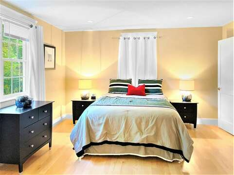 1st floor bedroom with a Queen bed - 22 Charlene Lane Harwich Cape Cod New England Vacation Rentals
