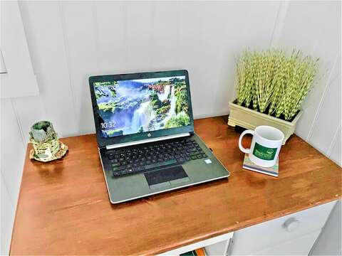 Office on main floor for WFH or Remote learning- 17 Ocean Avenue Harwich Port Cape Cod New England Vacation Rentals