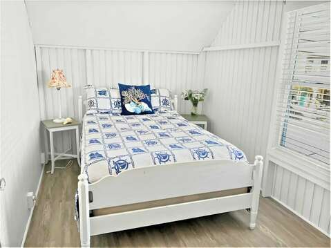 Bedroom #1 with Double bed - 17 Ocean Avenue Harwich Port Cape Cod New England Vacation Rentals