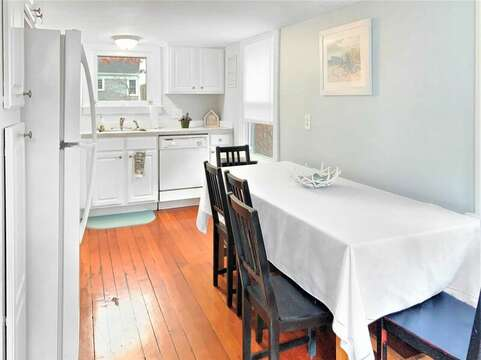 Eat in kitchen for dining - Fully equipped with dishwasher 130 Belmont Road West Harwich- Cape Cod - New England Vacation Rentals