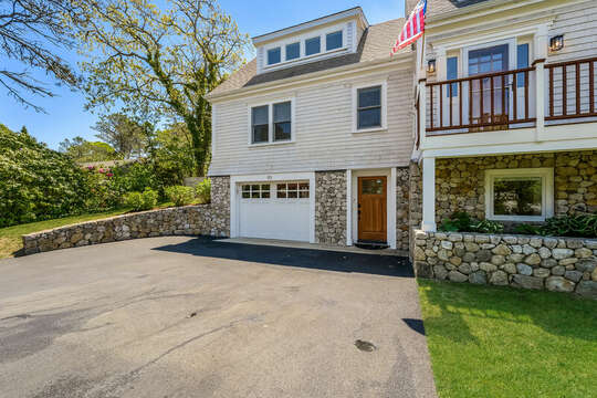 Lower level access to-93 Bucks Creek Road Chatham Cape Cod New England Vacation Rentals