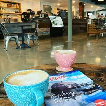 Cape Roots Market and Cafe - The year-round market offers pastries, baked goods, locally sourced seafood, meats, artisan cheeses, seasonal produce and homemade ice cream as well as pantry items and Snowy Owl coffee beans and deli sandwiches.