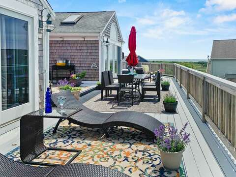 Welcome to Summer Wind! Panoramic ocean views from the large deck! - 19 Bob White Lane South Harwich Cape Cod New England Vacation Rentals