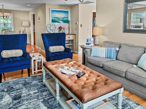 Plenty of seating with ocean views at 19 Bob White Lane South Harwich Cape Cod New England Vacation Rentals