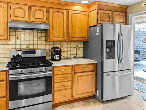 Fully equipped Kitchen at - 19 Bob White Lane South Harwich Cape Cod New England Vacation Rental