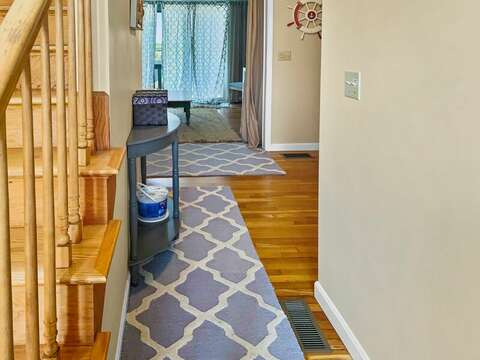 Entry to first floor at - 19 Bob White Lane South Harwich Cape Cod New England Vacation Rentals