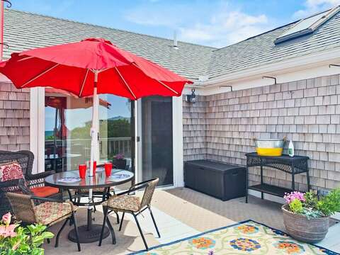 Deck at-19 Bob White Lane South Harwich Cape Cod New England Vacation Rentals