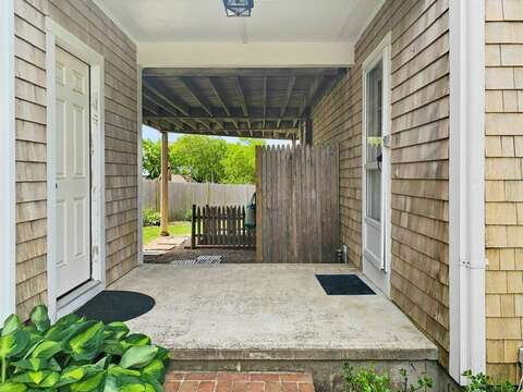 Breezeway at -19 Bob White Lane South Harwich Cape Cod New England Vacation Rentals
