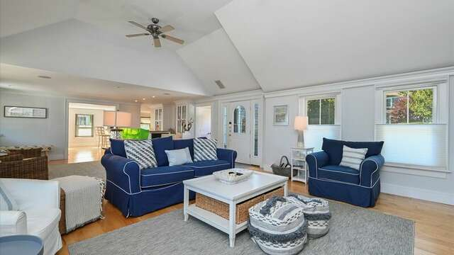 Another View of Living Area. 201 Main Street Chatham Cape Cod New England Vacation Rentals