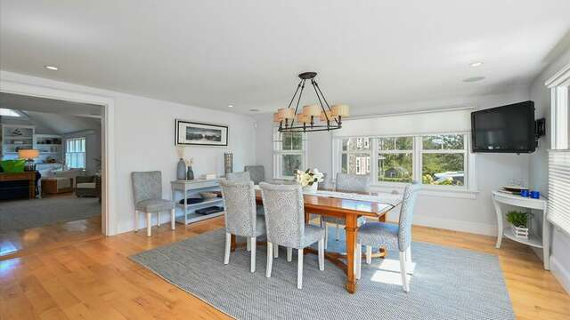Dining Area. Sitting and Bar Area. 201 Main Street Chatham Cape Cod New England Vacation Rentals