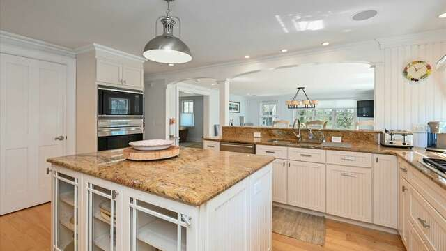 Fully Equipped Chef's Kitchen .  201 Main Street Chatham Cape Cod New England Vacation Rentals