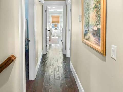 Upstairs Hallway- 32 Bearses By Way Chatham Cape Cod New England Vacation Rentals