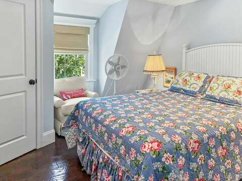 Bedroom 2 has a Queen bed - 32 Bearses By Way Chatham Cape Cod New England Vacation Rentals