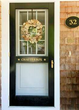 Welcome to the Chatterbox- 32 Bearses By Way Chatham Cape Cod New England Vacation Rentals