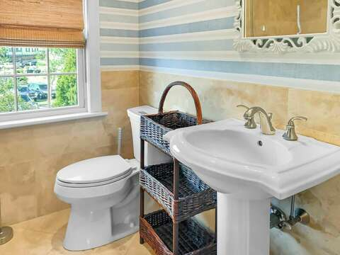 En suite bathroom with a shower - 32 Bearses By Way Chatham Cape Cod New England Vacation Rentals