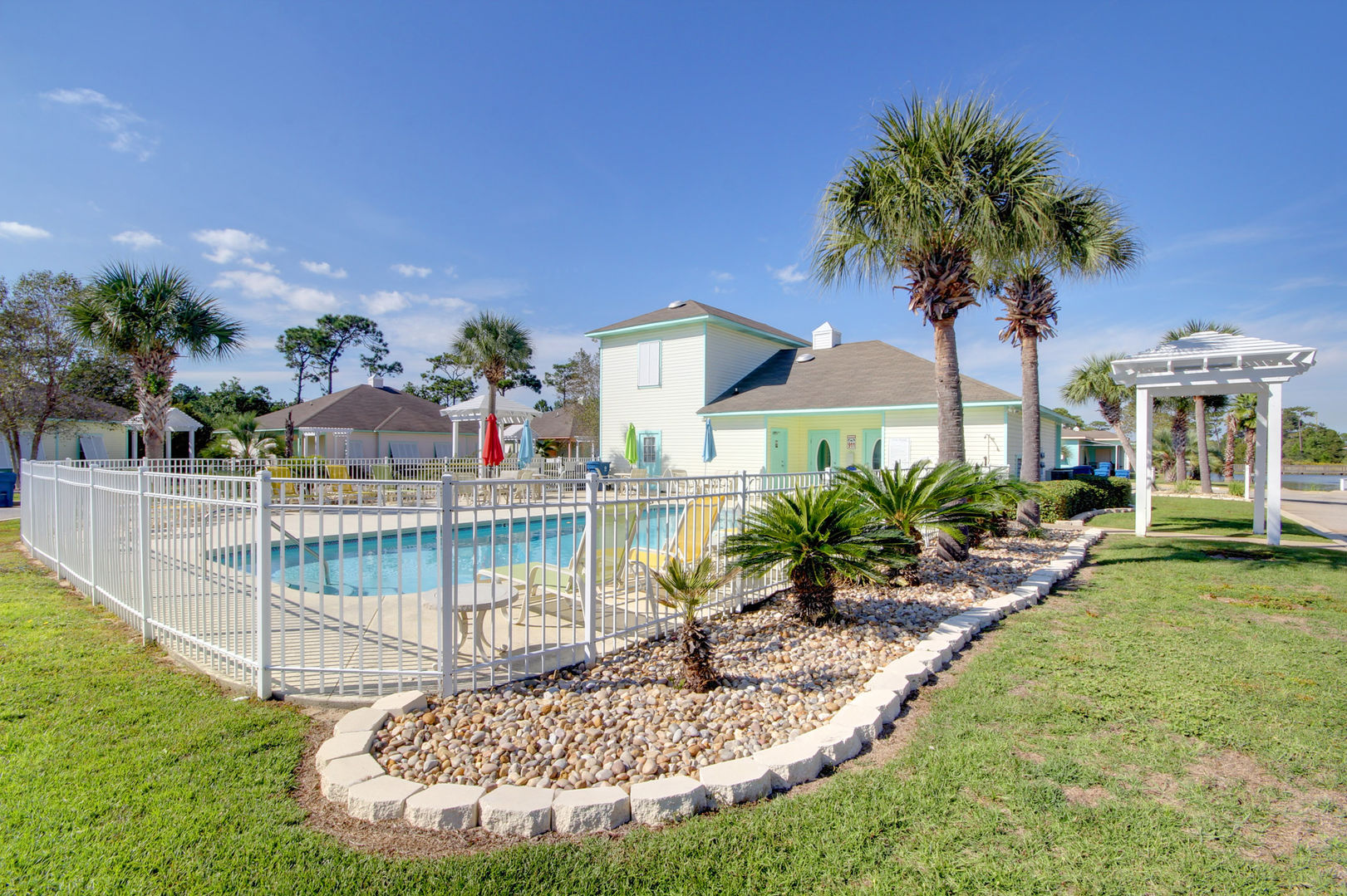 Soak up the sun and enjoy a relaxing swim in this beautiful, centrally located pool.