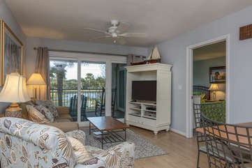 Welcome to 2905 Atrium! Enjoy golf views from this 2BR/2BA home.