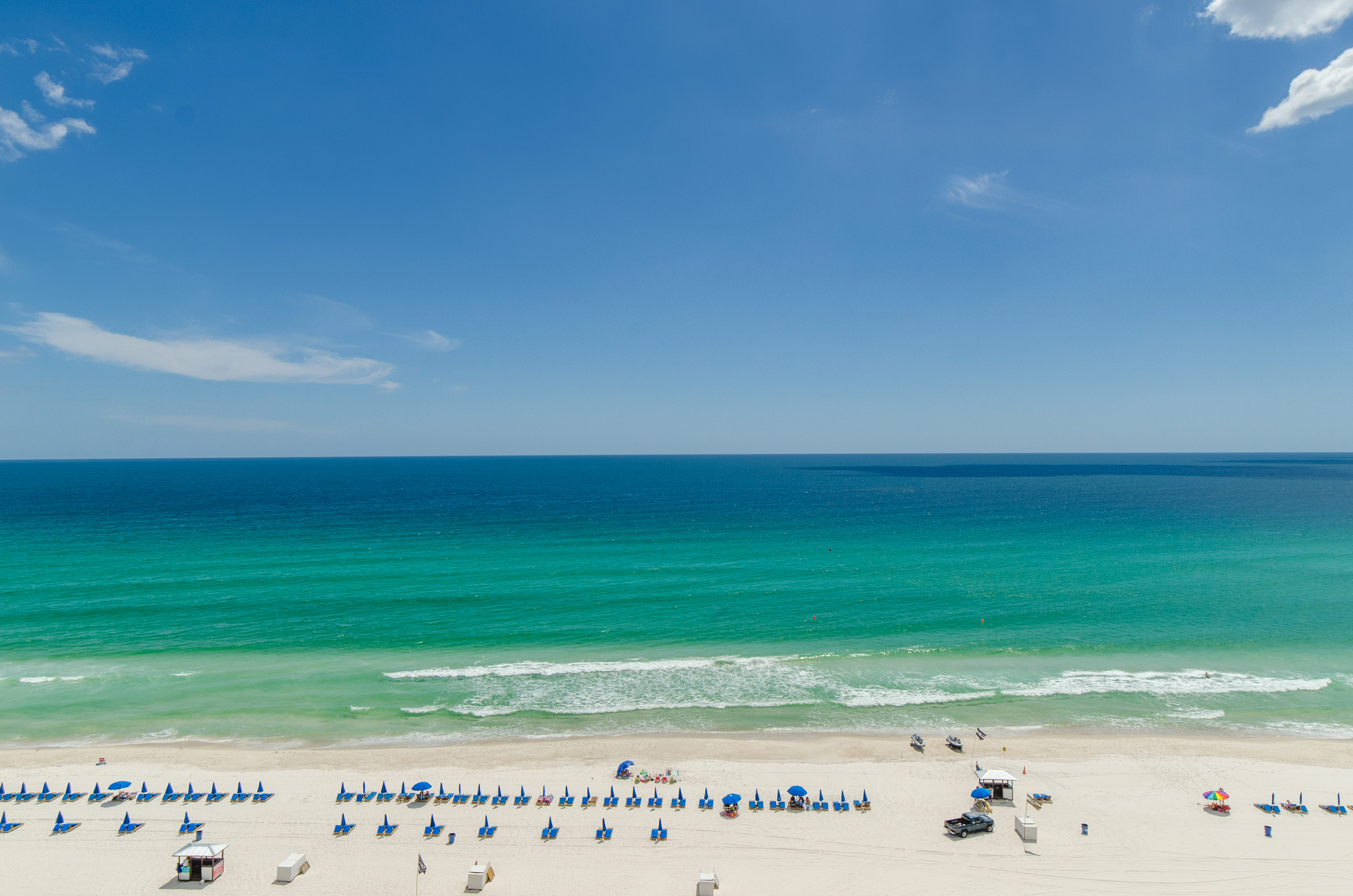 Beach Days are the main attraction in Panama City Beach, Florida
