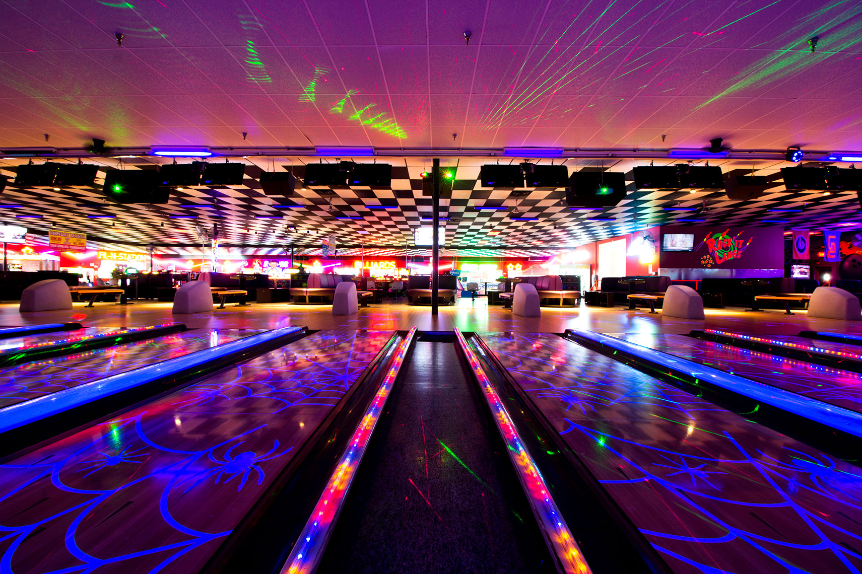 Rock 'It Lanes is a great place for bowling, games and so much more.