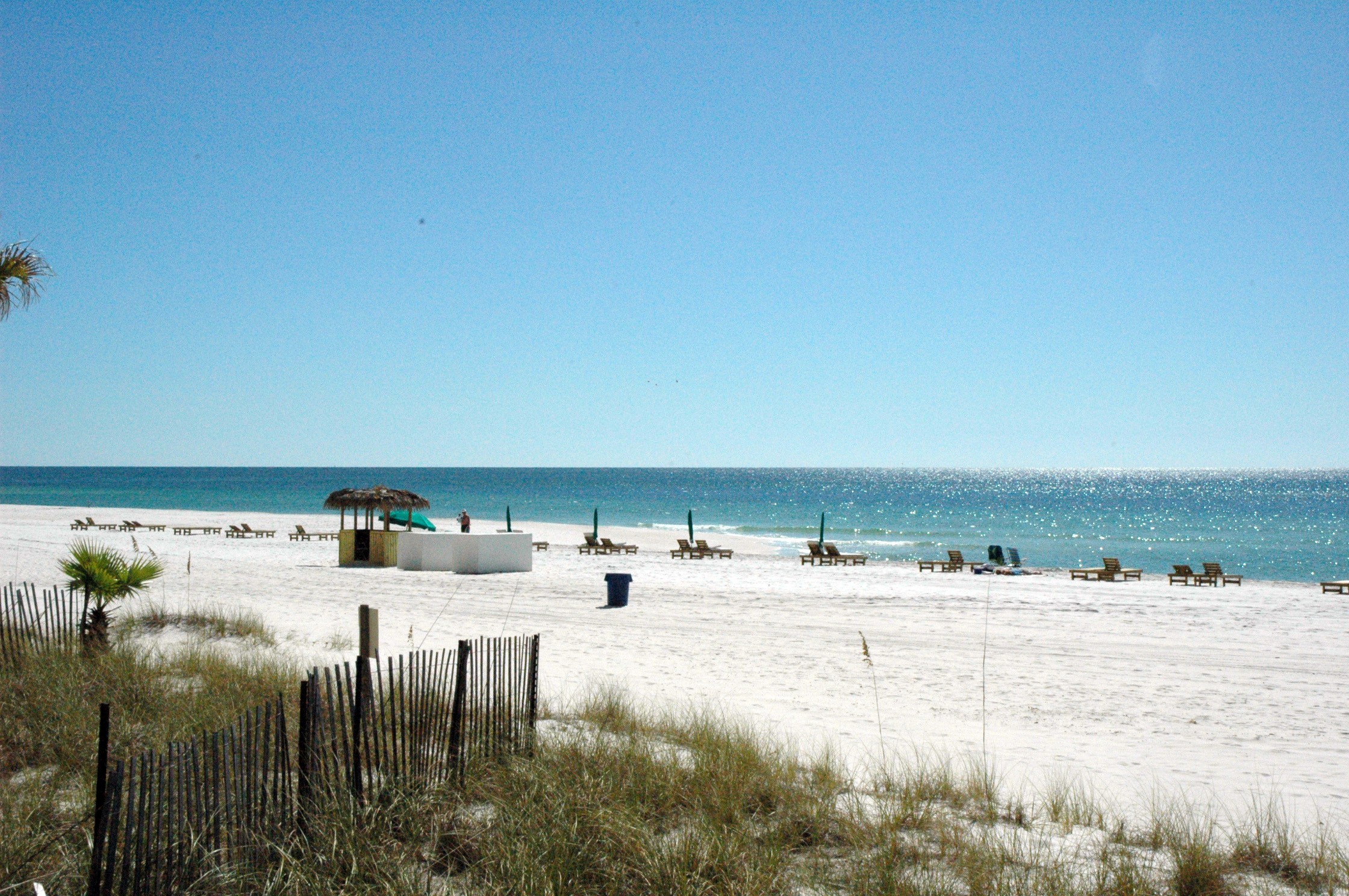 Sunbird's beach is less crowded than most.  You'll love your little piece of paradise.