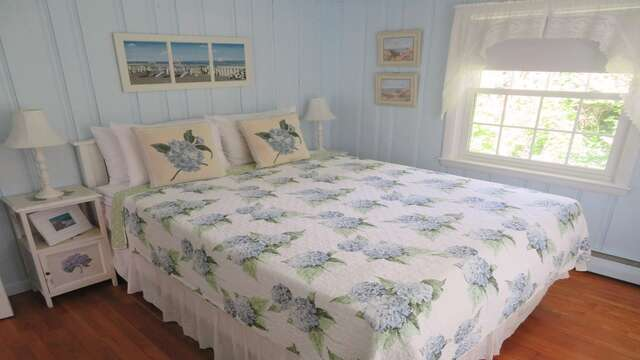 Bedroom 2 with Queen bed  - 14 Capri Lane Chatham Cape Cod New England Vacation Rentals