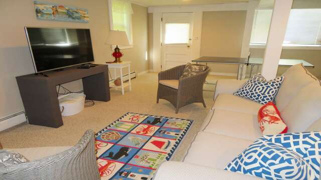 Plenty of comfortable seating! - 14 Capri Lane Chatham Cape Cod New England Vacation Rentals