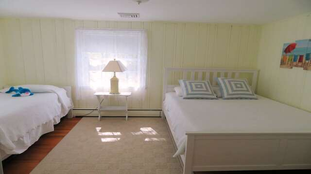 Bedroom 3 with Queen and trundle bed - 14 Capri Lane Chatham Cape Cod New England Vacation Rentals