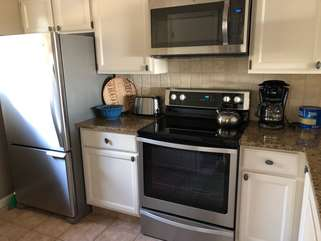 Enjoy cooking on this new stove!