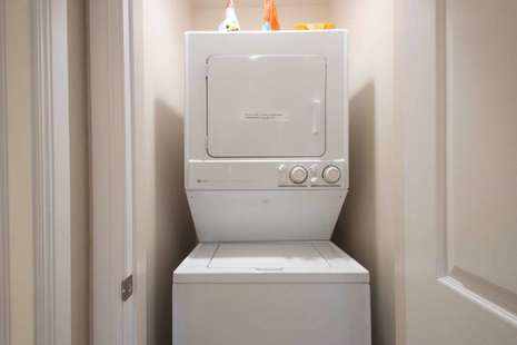 Upstairs Washer and Dryer