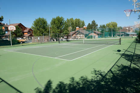 Community Tennis Courts and Basketball Court