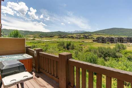 Mountain Views from Private Deck