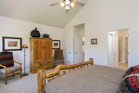 Master Suite with Door On Left Opening Into Master Bathroom