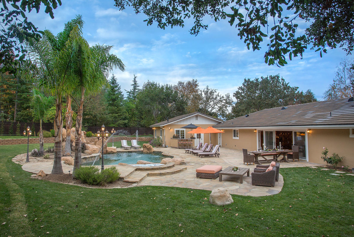 Backyard oasis designed for fun & relaxation