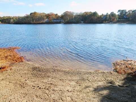 Take a dip in the cooling waters of Aunt Edy's Pond- Just steps from your door! - 379 Oak Street Harwich Cape Cod New England Vacation Rentals