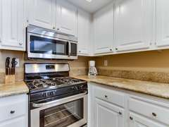 Updated Kitchen with granite counter tops.