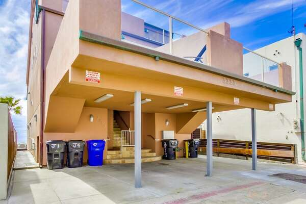 1 Parking Space of this San Diego vacation home rental.